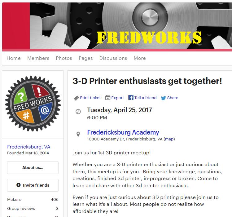 3D Printer Meetup